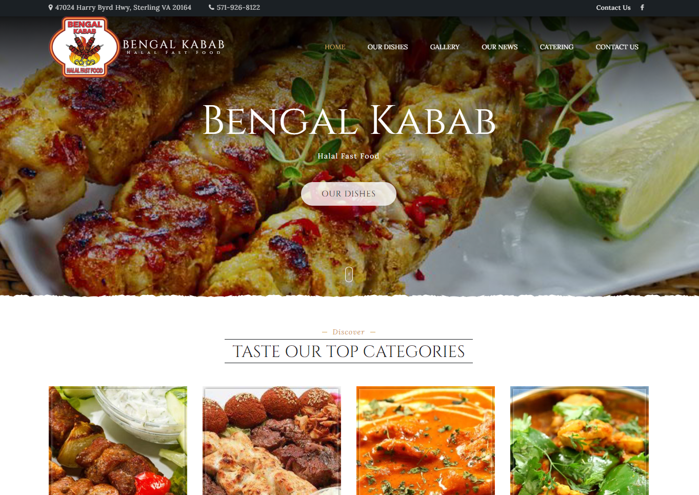 Website Design for Foodpeon