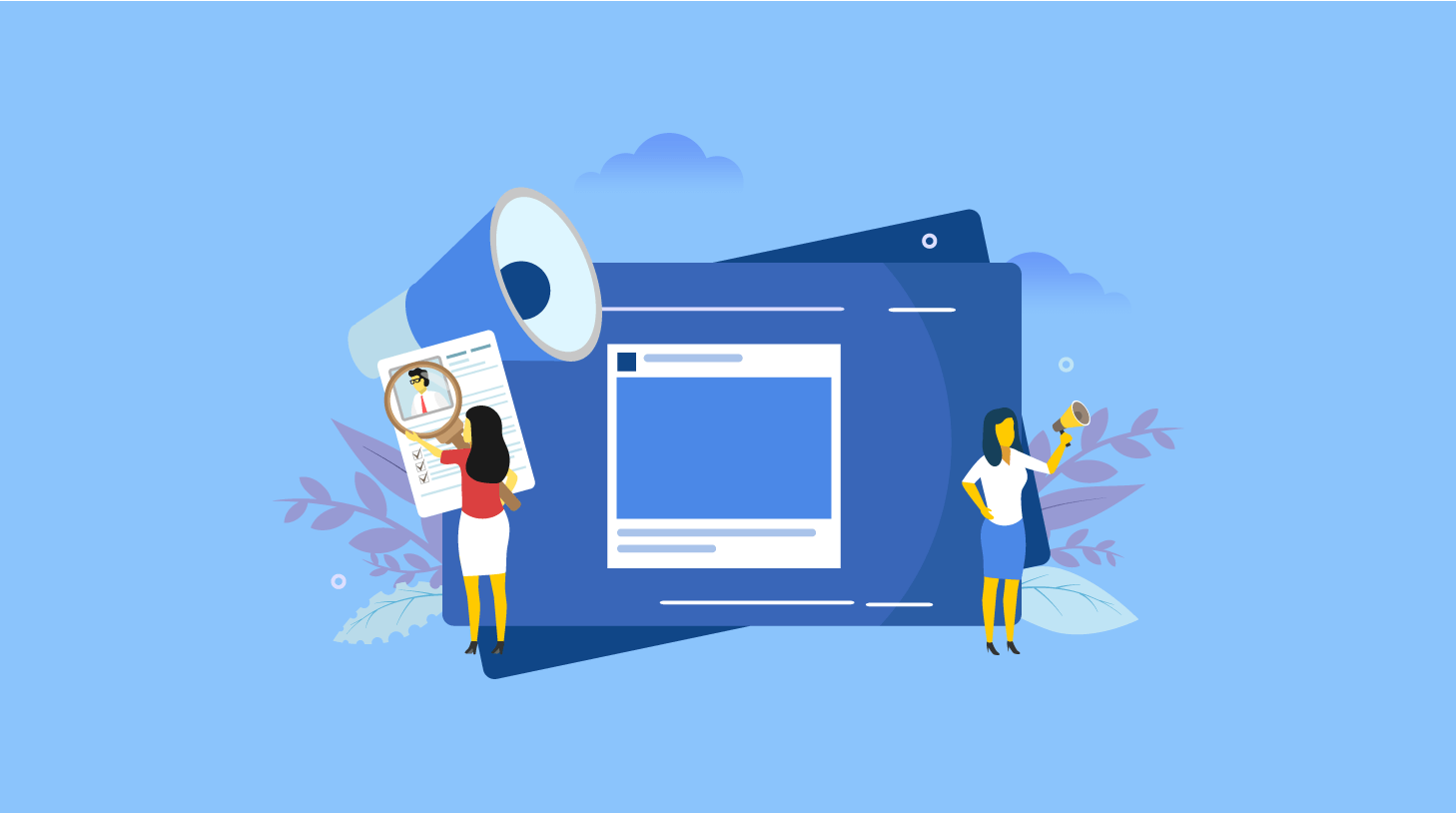 Facebook for business  success followed by the 4 effective steps
